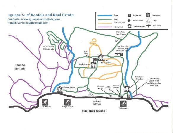 Iguana Map